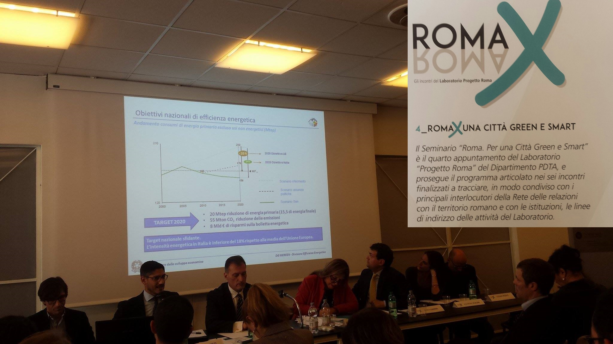 Smart city e più green, Roma a La Sapienza