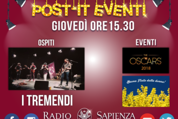 POST-IT EVENTI 8 MARZO