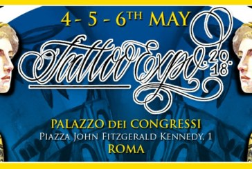 XIX Edizione dell'International Tattoo Expo di Roma