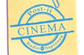 Post-it Cinema – 12 Maggio